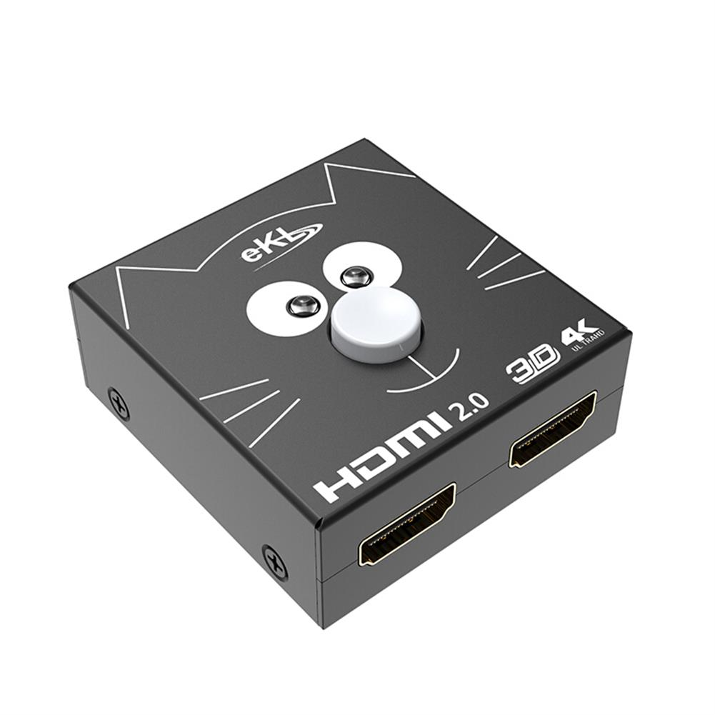 video-cables-connectors eKL 2H HD Switcher 2 in 1 Out / 1 in 2 Out HD 4K Network Box Distributor Computer TV Video Splitter Monitor Screen Adapter HOB1644097 1