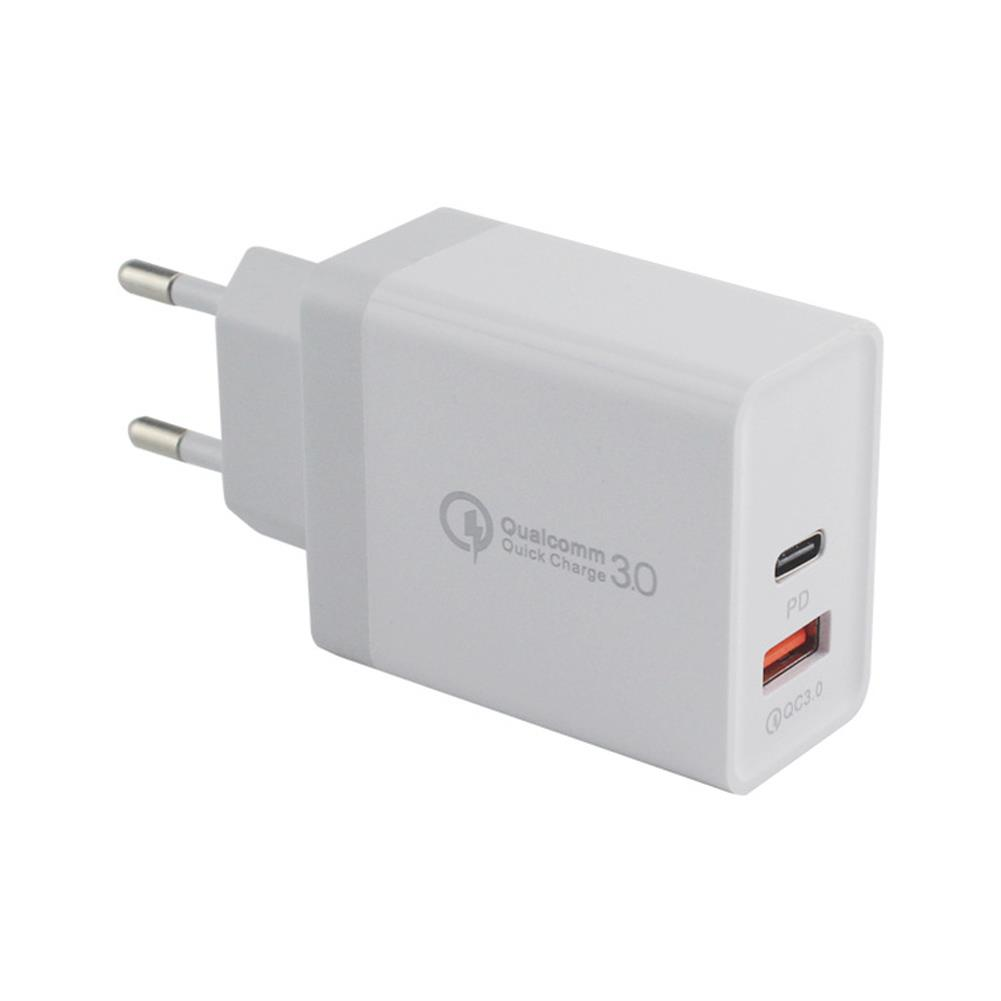 tablet-chargers 36W Dual USB Type C PD+QC3.0 Quick Charger Power Adapter for Smartphone Tablet HOB1645338 1
