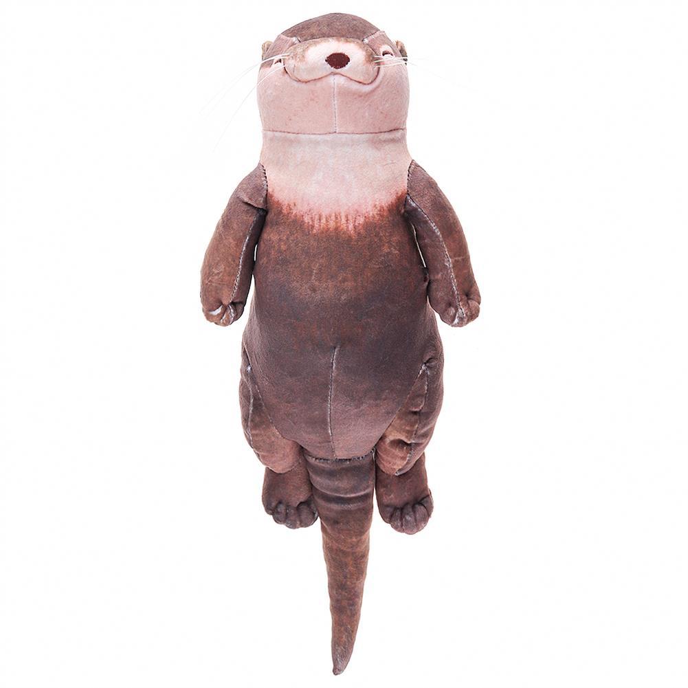 pencil-case Creative Otter Plush Toy Wrist Pad Pen Pencils Holder Pencil Case Bag HOB1646456 1