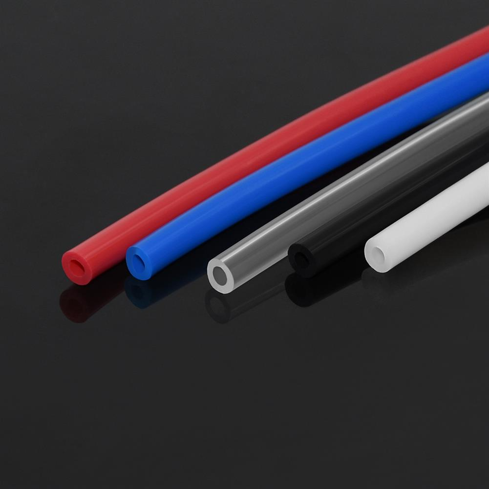 3d-printer-accessories TWO TREES 5M PTFE Tube Red/Blue/Black/White/Transparent Nozzle Feed Tube 2x4mm with Portable Cutter for 3D Printer HOB1646938 3 1
