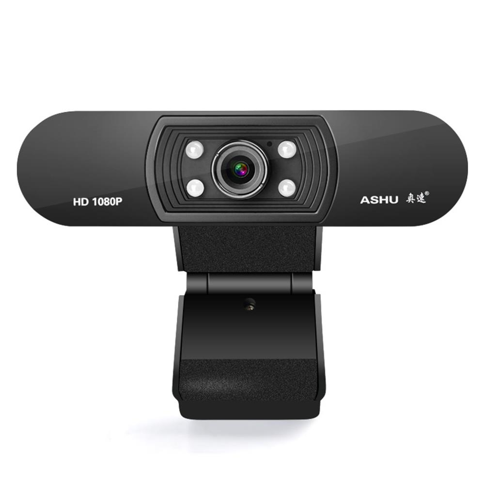 webcams ASHU H800 1080P HD Widescreen Video Webcam Hdweb Camera with Built-in Hd Microphone for Laptop PC HOB1649154 1 1