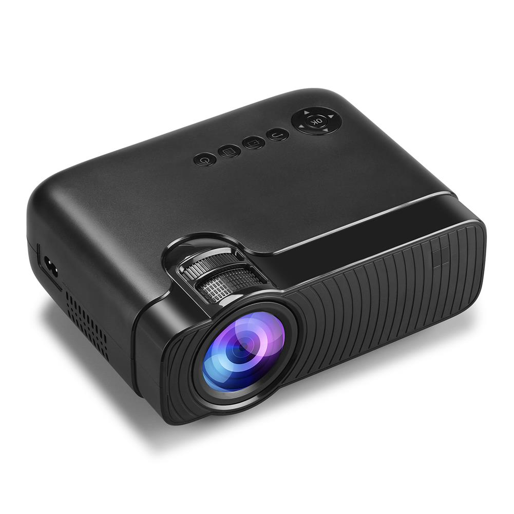 projectors-theaters YJ333 LCD Projector 2800 Lumens Support 1080P input Multiple Ports Portable Smart Home theater Projector with Remote Control HOB1649315 1