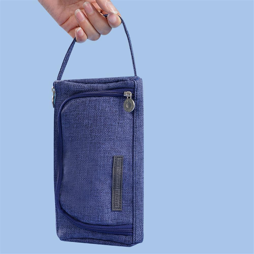 pencil-case Large Capacity Pencil Case Bag Pen Pencils Pouch Holder Large Storage Stationery Organizer office School Supplies for College Teens HOB1650859 2 1