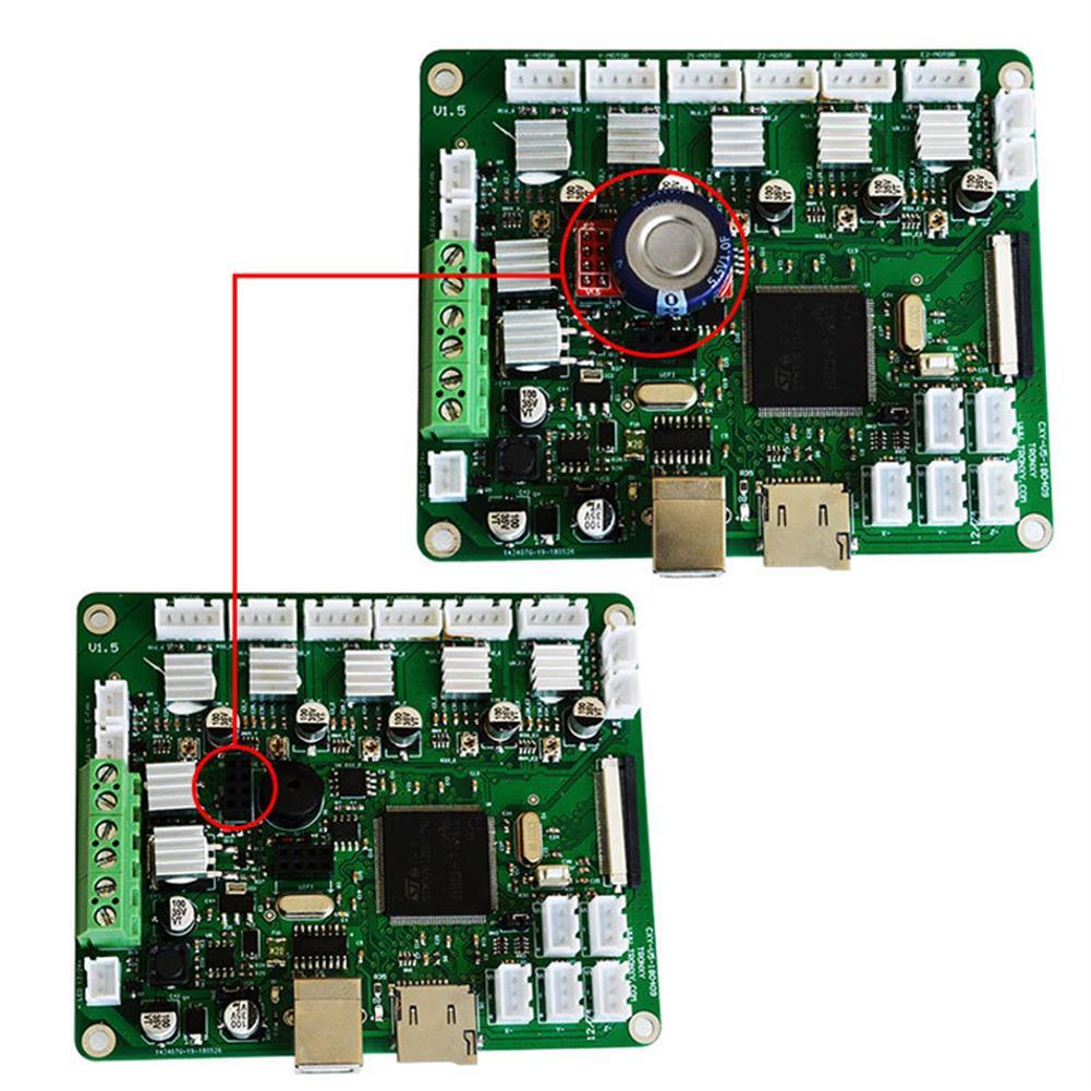3d-printer-accessories TRONXY Mini Power off Continuous Printing Module Control Board for 3D Printer HOB1653423 2 1