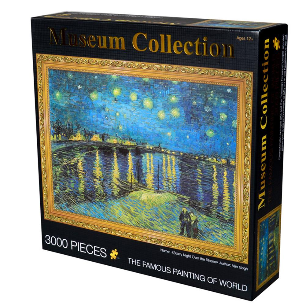 other-learning-office-supplies 3000 Pieces Jigsaw Puzzles Brain Development Toy for Adults Children Kids Educational Games Toys HOB1659397 1 1