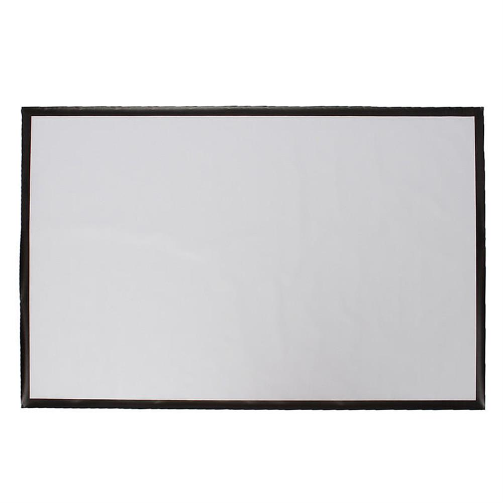 projector-screens 100 inch 16:9 Projector Screen Home Projection Manual Hanging Home theater Movie HOB1659730 1