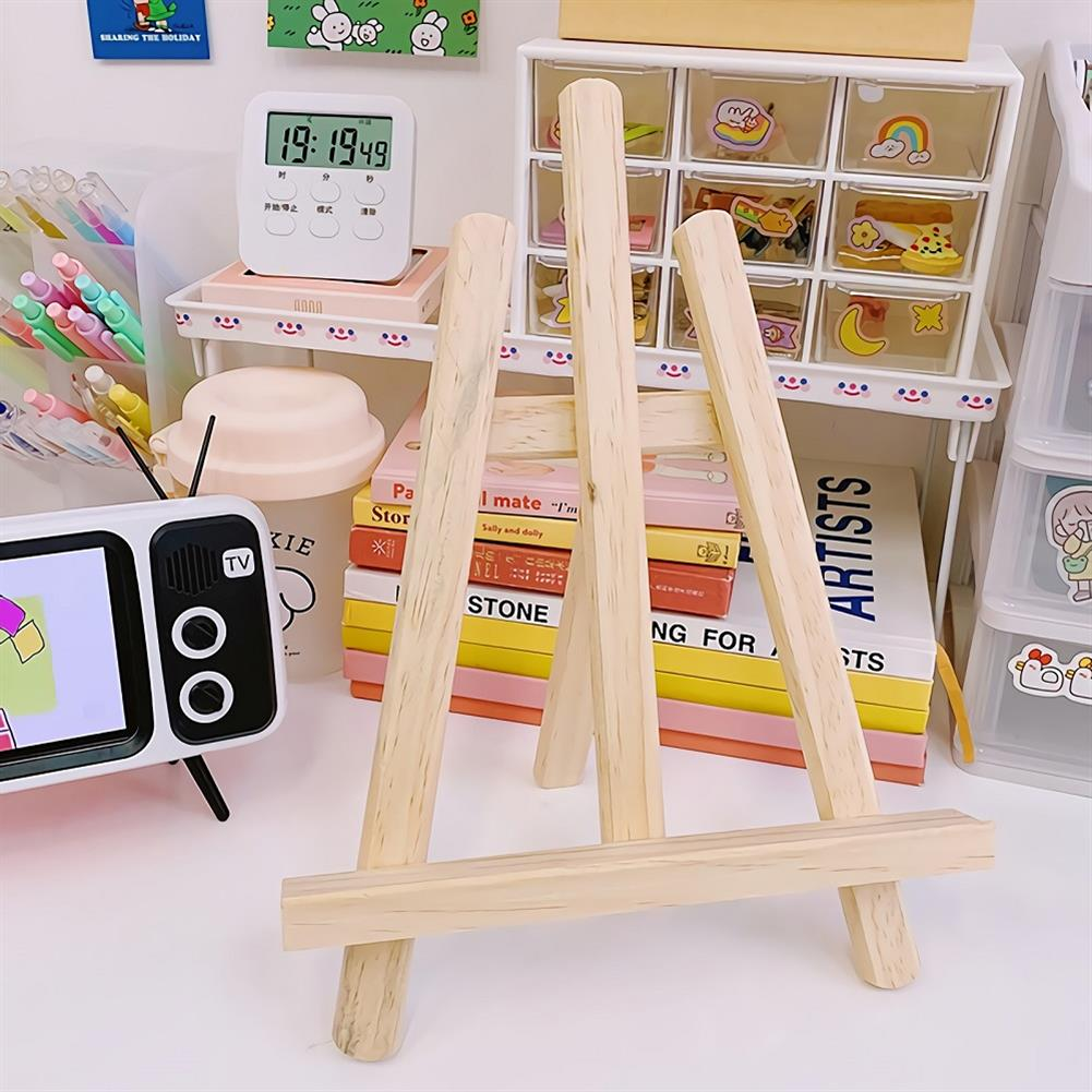 tablet-stands Universal Wooden Mini Bracket Multi-function Easel Tablet Stand HOB1662128 1 1