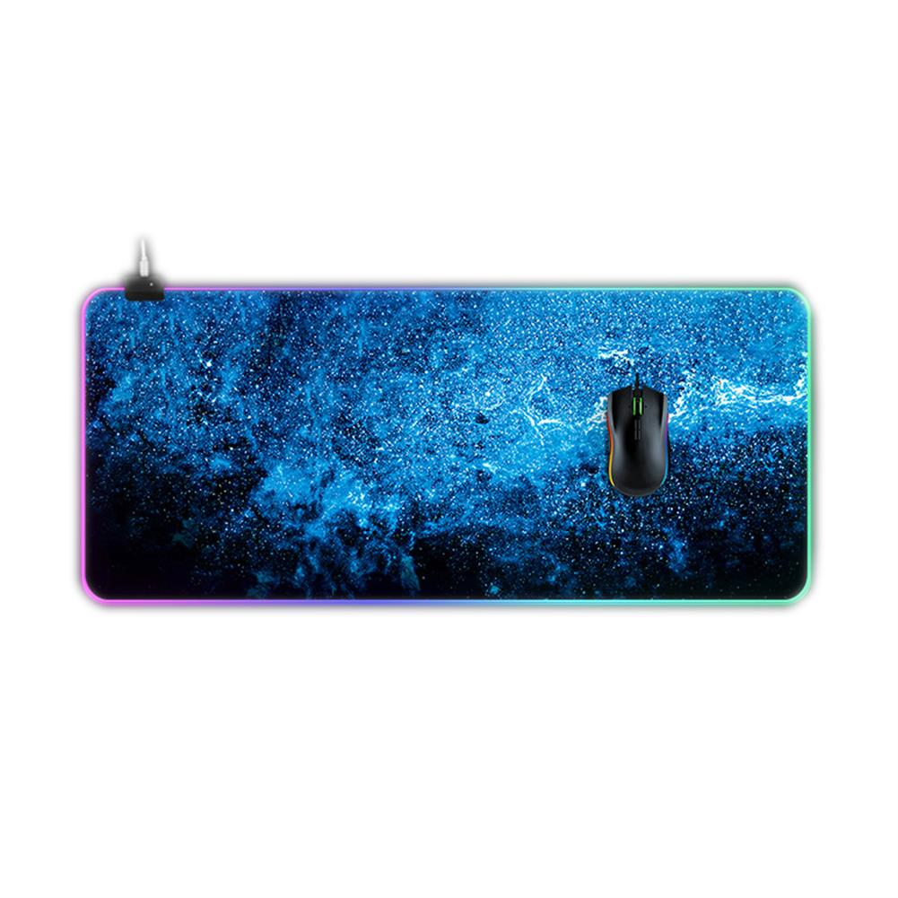 mouse-pads-keyboards-mouse Starry sky Oversized Non-slip Thickened Mouse Pad RGB Gaming Keyboard Pad for PC Latop HOB1662899 1