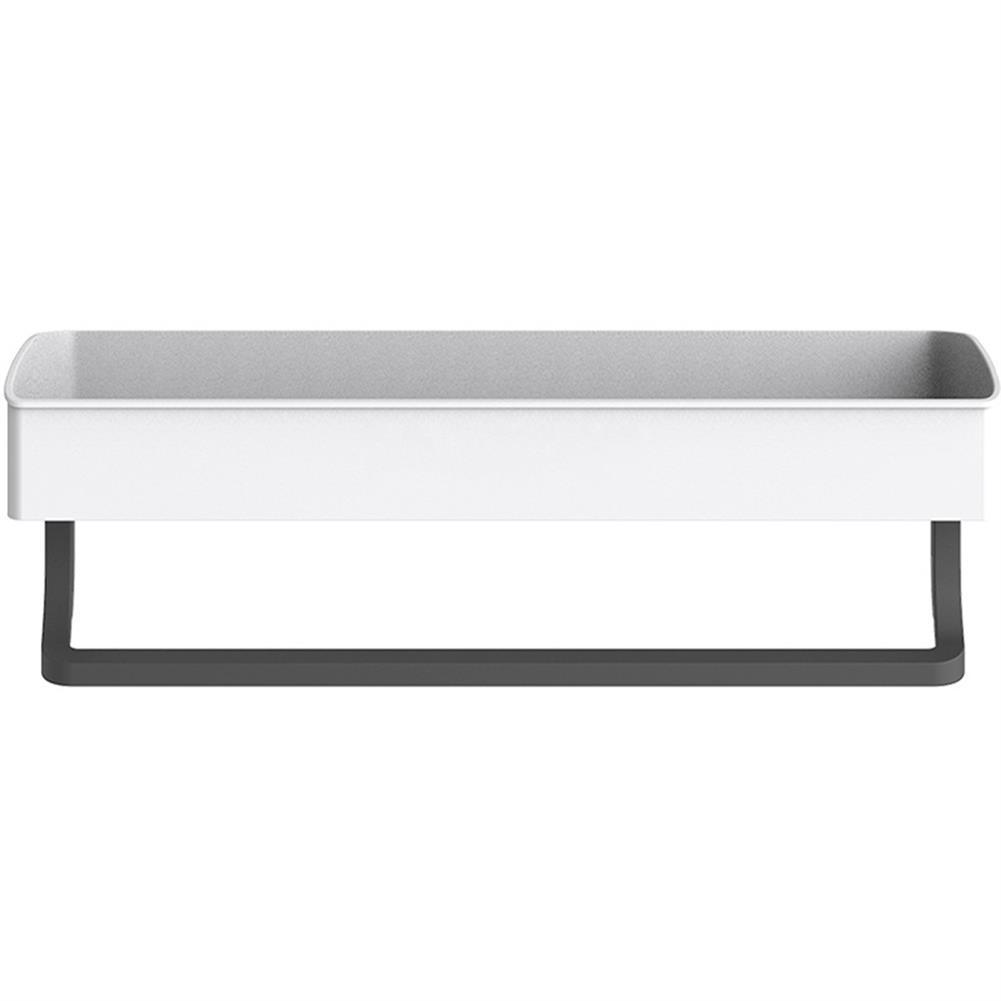 pen-holders, filing Bathroom Wall Mounted Kitchen Storage Rack Towel Shelf Organizer Shower Shampoo Holder HOB1663521 2 1
