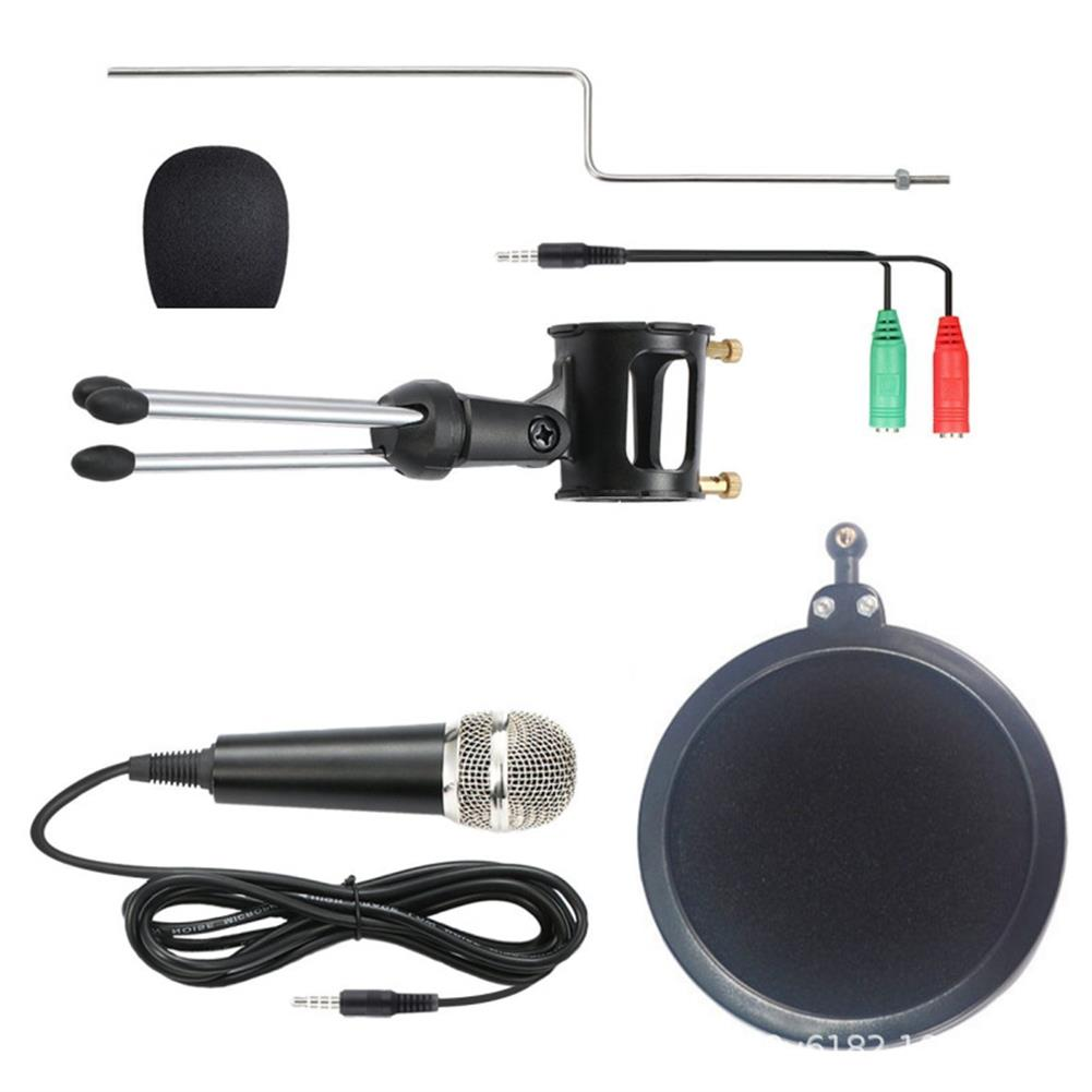 microphones-microphones-headphones X-01 3.5 mm Jack Mini Recording Condenser Microphone for Computer PC Karaoke Phone HOB1665024 1 1