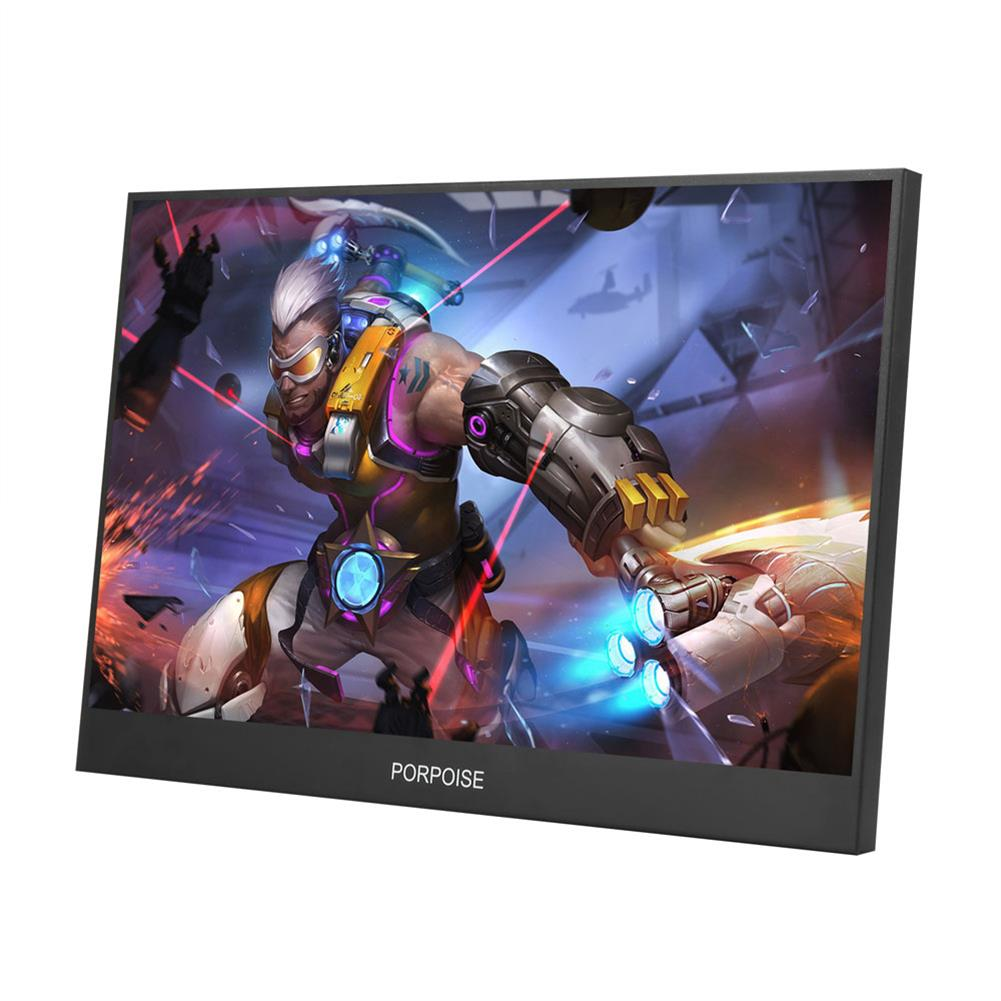 monitor PORPOISE HT-1160XT 13.3 inch 1080P Type C Portable Computer Monitor Gaming Display Screen for Smartphone Tablet Laptop Game Consoles HOB1666035 1 1