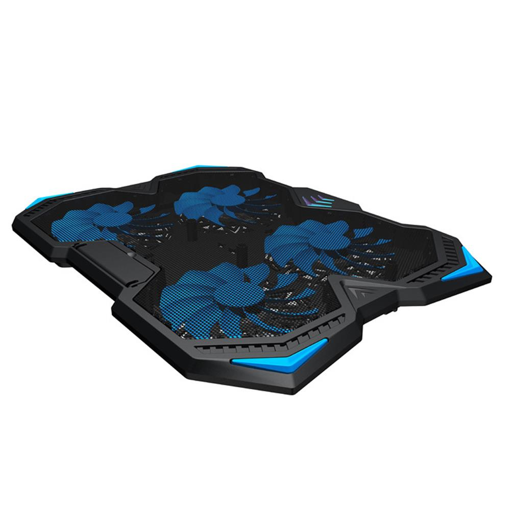 cooling-pads-stands Laptop Cooling Pads 4 Fans 3 Levels of Lifting USB Port Air Cooling Noiseless Stand for 17 inches and Below Laptops HOB1669559 1 1