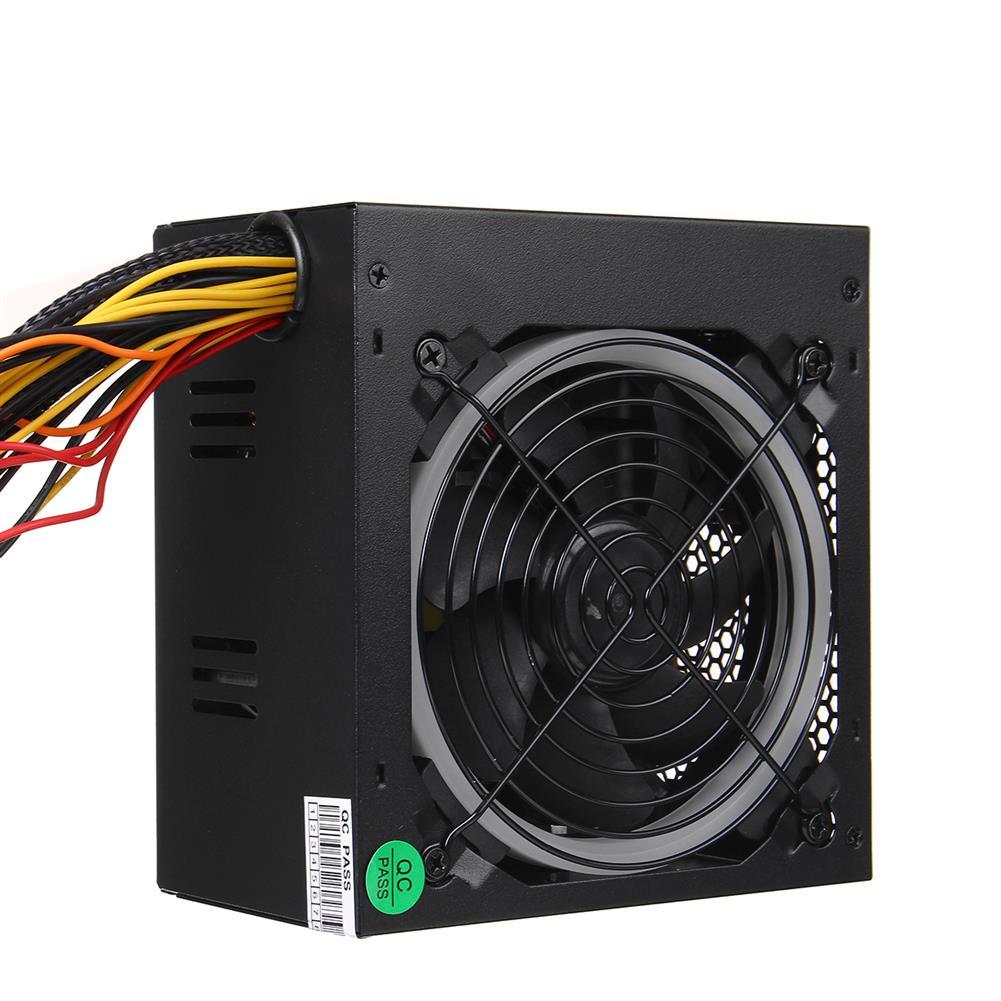 pc-power-supplies 800W ATX 12V PC Computer Desktop Power Supply PCI SATA LED Fan 24pin Gaming HOB1673385 1 1