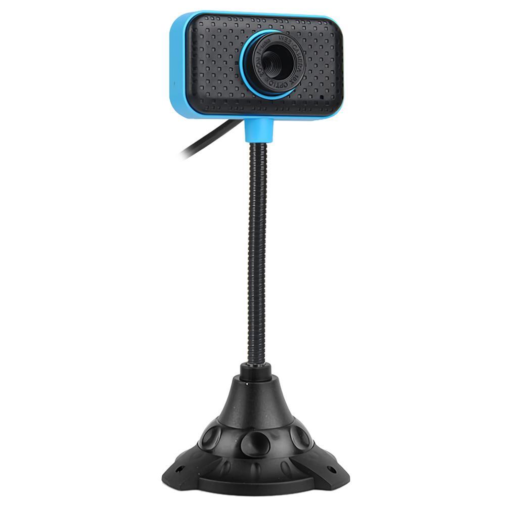 webcams 480P HD Webcam CMOS 30FPS 0.45 Million Pixels USB 2.0 USB Drive-free Camera Video Call Webcam with Microphone for Desktop Computer Notebook PC HOB1675279 1 1