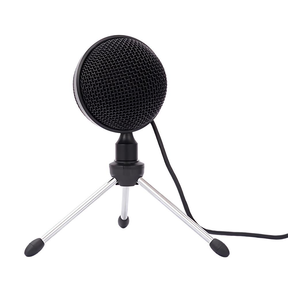 microphones-microphones-headphones YR K2 USB Condenser Microphone Spherical Cardioid-directional Computer Karaoke Microphone for Recording Singing Game Live Broadcast HOB1678517 1 1