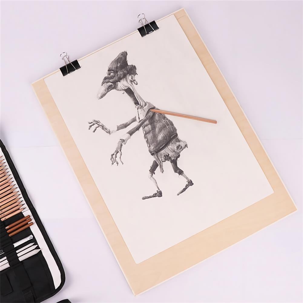 artboard-easel 8K Artist Drawing Board Wooden Sketch Painting Board for Artists Beginners Outdoor Sketching 8K Hollow Board HOB1679850 1 1