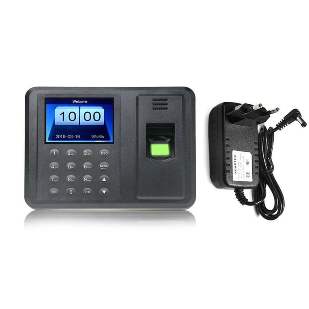 attendance-machine 2.8 Employee Biometric Fingerprint Recorder Attendance Clock Time Card Machine HOB1679931 1