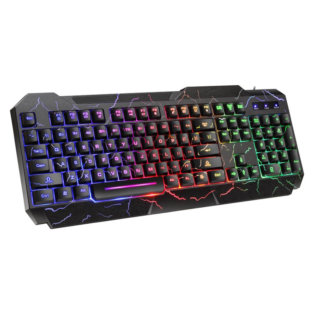 mechanical-gaming-keyboard D620 104Key RGB Backlight Mechanical Feeling Keyboard and 1600 DPI RGB Gaming Mouse HOB1683341 1 1