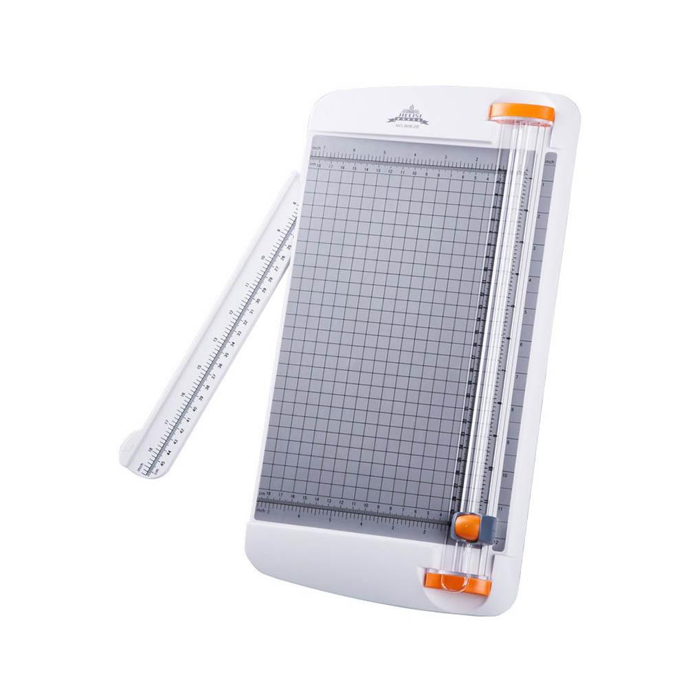 paper-cutter A4 Paper Cutter Manual Effort Safety Paper Cutting with Ruler for School office Home Supplies HOB1685571 1