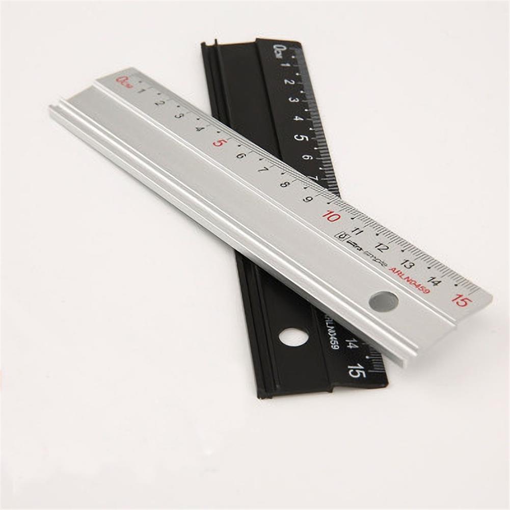 ruler Set Ruler Student Stationery Set Aluminum Ruler 4-piece Painting Set HOB1687563 1 1