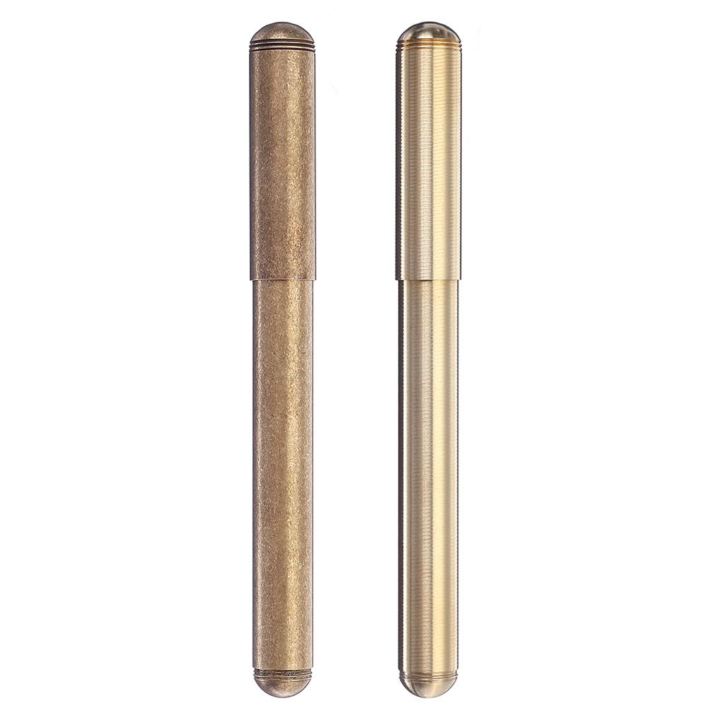 pen Vintage Brass Fountain Pen Golden Calligraphy Writing Signing Pen Business Gift office School Supplies Stationery HOB1688819 1