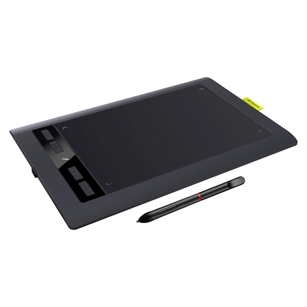writing-tablet Acepen AP1060N Digital Graphics Tablet Professional 10*6 inch Drawing Tablet Pad Board Kit with Battery-free Stylus 8192 Levels Pressure HOB1688847 1
