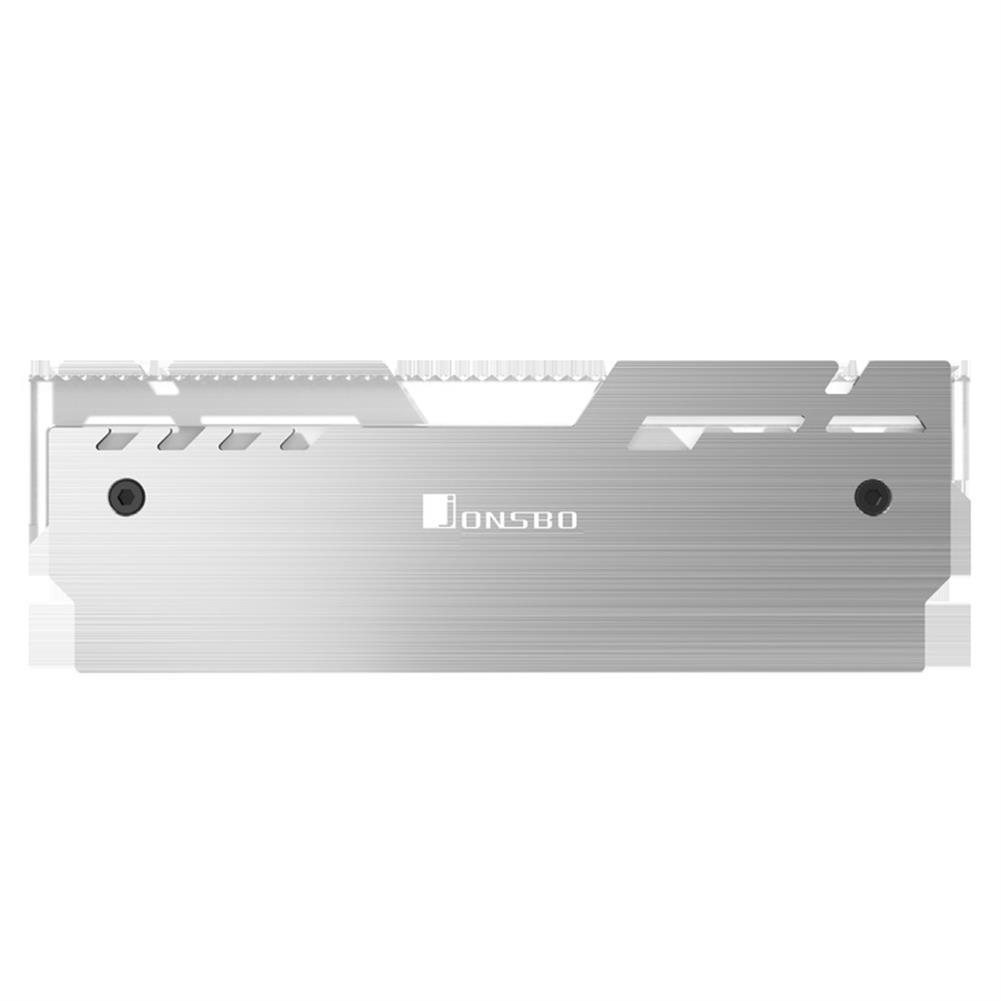 rams JONSBO NC-3 Computer Memory Cooler 5V Glowing RAM Heatsink Cooling Vest Colorful Light Changes Automatically Radiator Desktop HOB1690744 1 1
