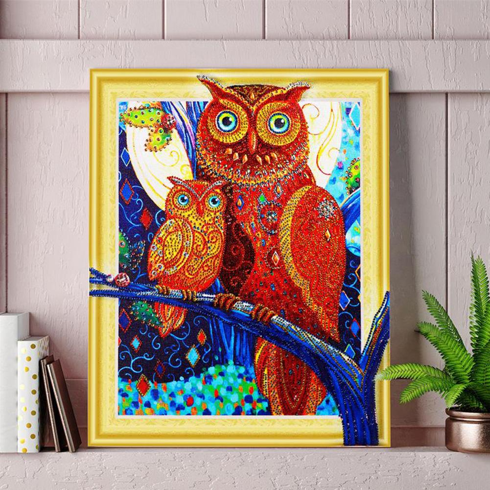 art-kit 5D Diamond Painting Horse Owl Lion Embroidery Cross Stitch Kit Home office Decorations HOB1692308 1