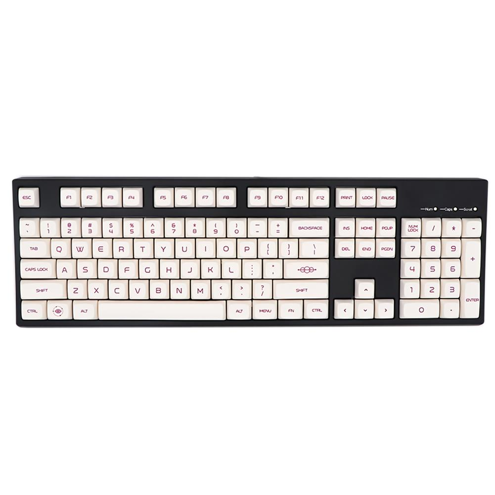 keycaps-switches 138 Keys Milk Purple Keycap Set XDA Profile PBT Sublimation Keycaps for Mechanical Keyboards HOB1694041 1