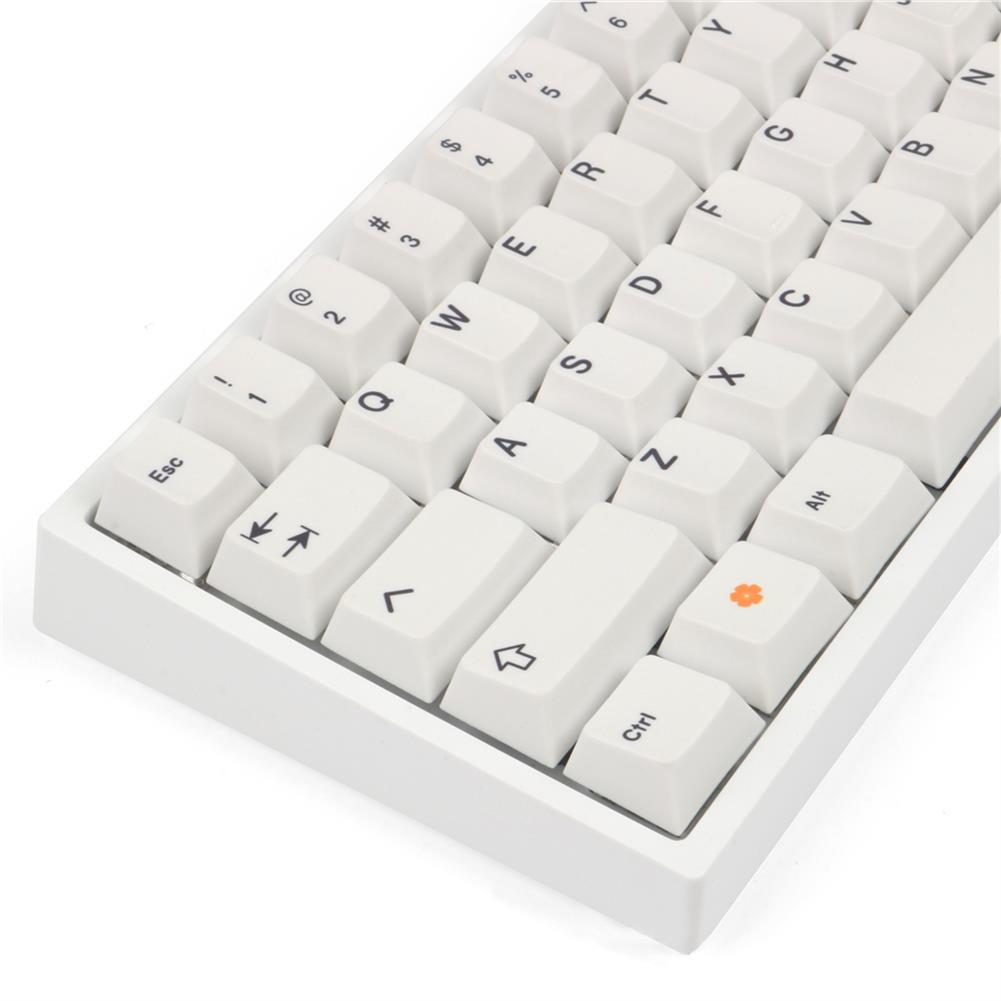 keycaps-switches MechZone 136 Keys White Orange Keycap Set Cherry Profile PBT Sublimation Keycaps for Mechanical Keyboards HOB1694668 3 1