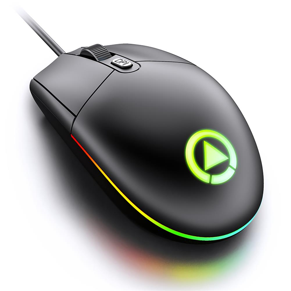 mouse YINDIAO G3SE Wired Gaming Mouse 1600DPI USB Wired RGB Game Mouse for Laptop PC Computer HOB1697696 1 1