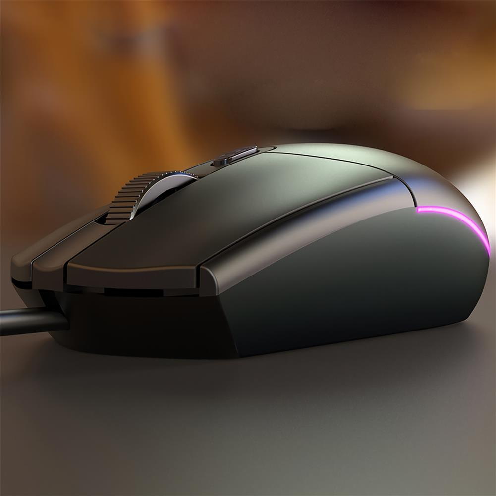 mouse YINDIAO G3SE Wired Gaming Mouse 1600DPI USB Wired RGB Game Mouse for Laptop PC Computer HOB1697696 3 1