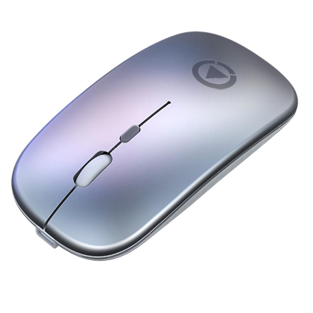 mouse YINDIAO A2 Wireless Rechargeable Mouse 1600DPI Silent RGB Backlit USB Optical Ergonomic Gaming Mouse for Laptop Computer PC HOB1697753 1 1