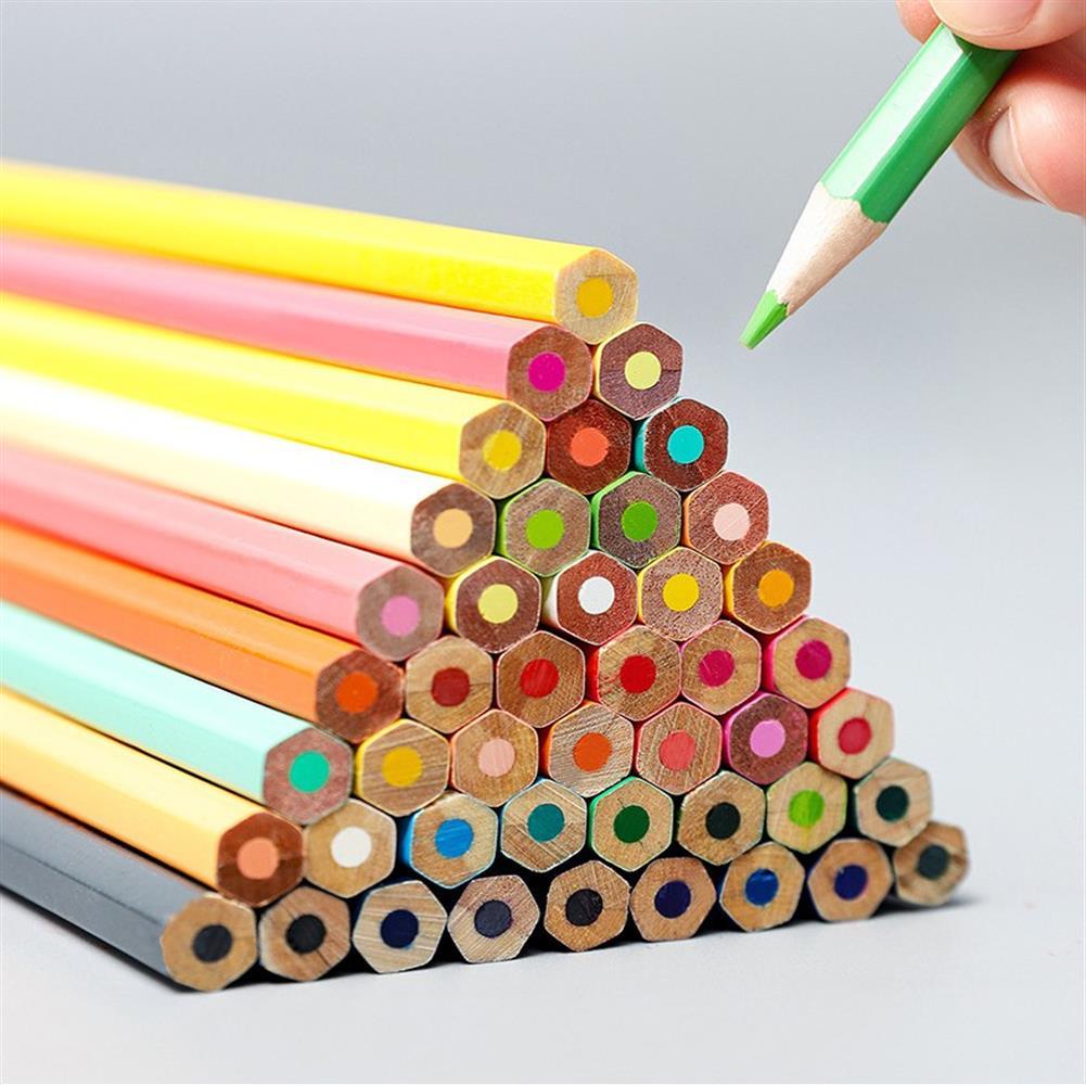 watercolor-paints 12/ 36/ 72 Colors Colored Pencils Professional Oily Colored Lead Set Art Supplies HOB1700571 1