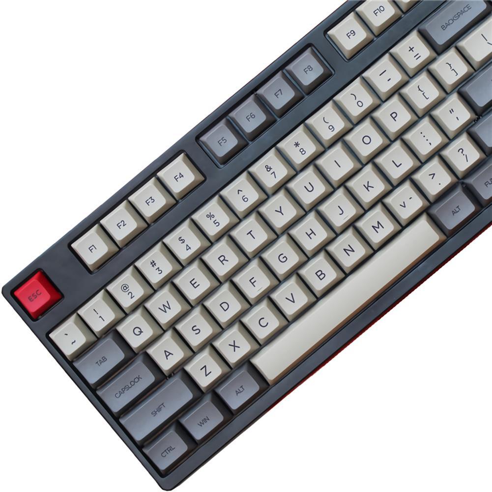 keycaps-switches 108 Keys Space Grey Keycap Set KT1 Profile PBT Keycaps for 104/108 Keys Mechanical Keyboards HOB1700981 2 1