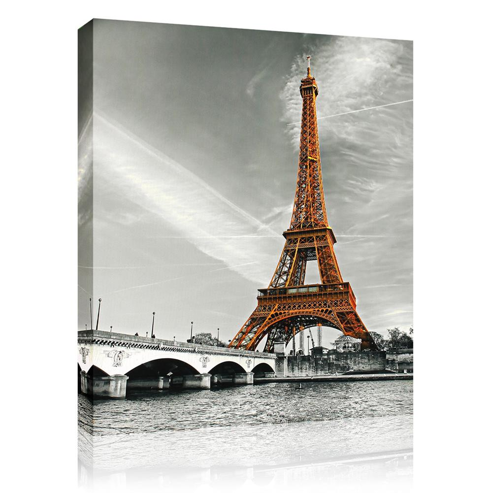 art-kit 1 Piece Eiffel Tower Wall Decorative Painting Canvas Print Art Pictures Frameless Wall Hanging Decorations for Home office HOB1702542 1 1
