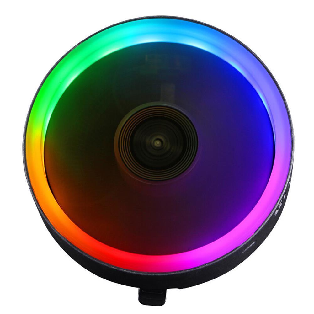 fans-cooling Great Wall X120 RGB CPU Cooler 3Pin 12V 120MM Radiator Fan Support intel&AMD CPU Cooling Heatdiss Fan HOB1702560 1 1