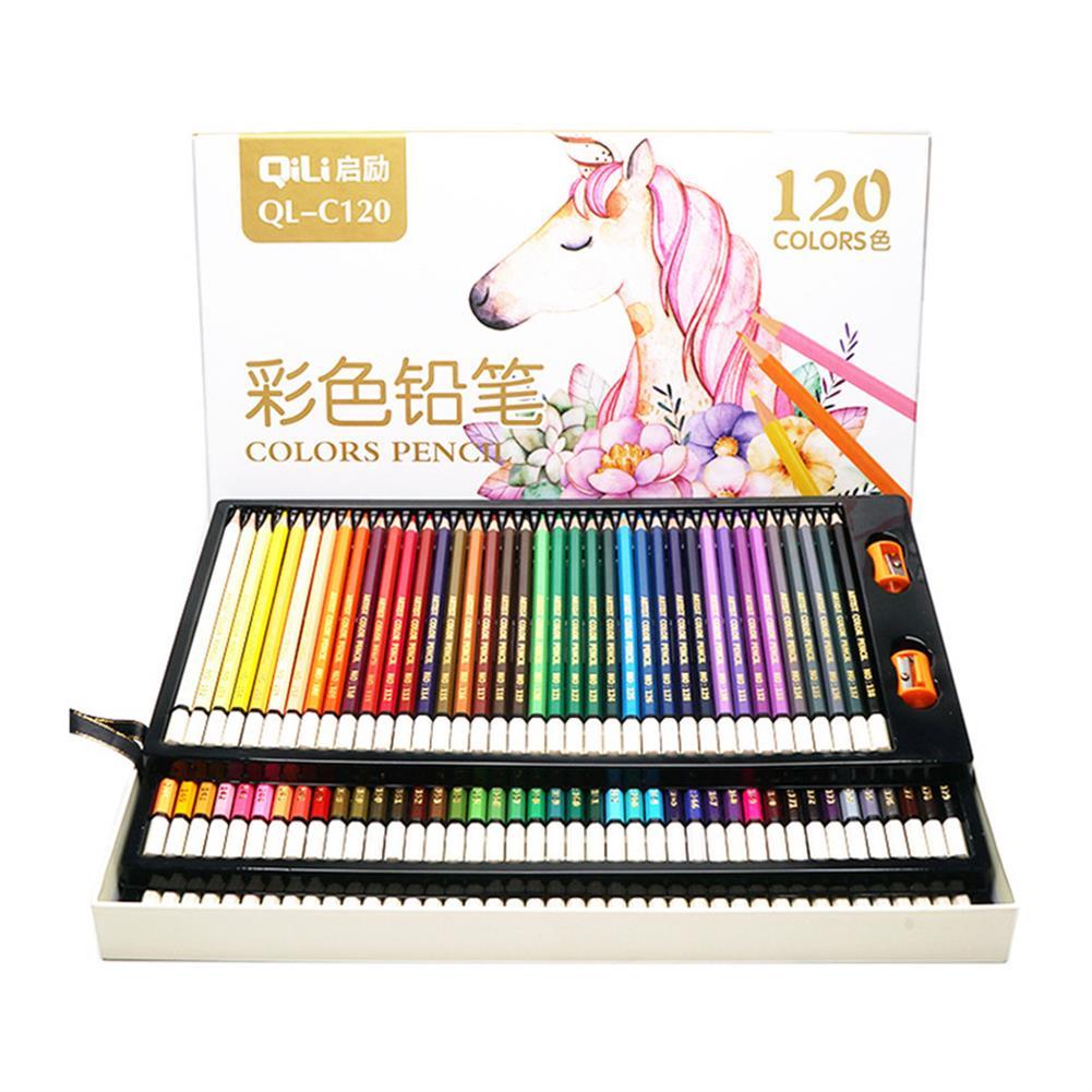 pencil 120 Colors Pencils Professional Oil Colored Pencils Set Artist Painting Sketching Wood Color Pencil School Art Supplies HOB1702773 1