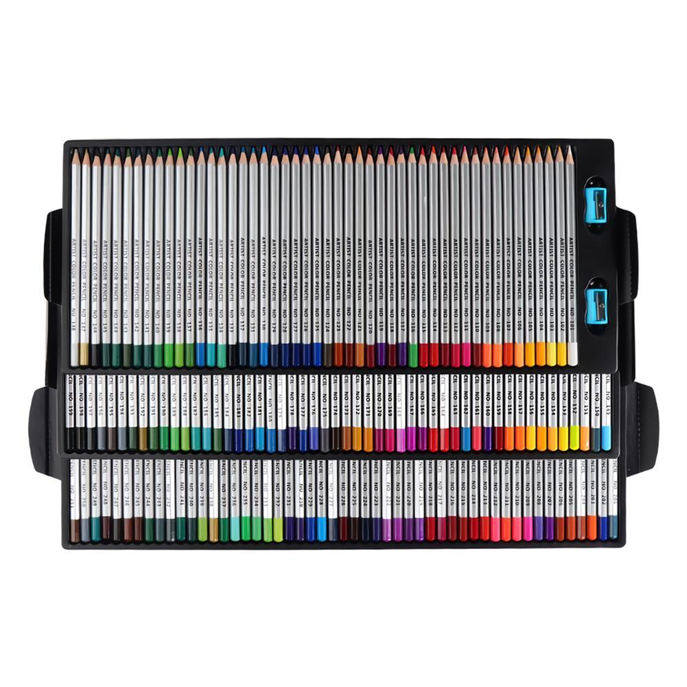 watercolor-paints 150 Colors Pencils Professional Oil Colored Pencils Set Artist Painting Sketching Wood Color Pencil School Art Supplies HOB1702852 1 1