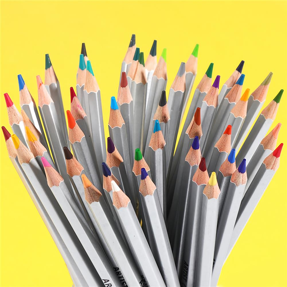 watercolor-paints 150 Colors Pencils Professional Oil Colored Pencils Set Artist Painting Sketching Wood Color Pencil School Art Supplies HOB1702852 2 1