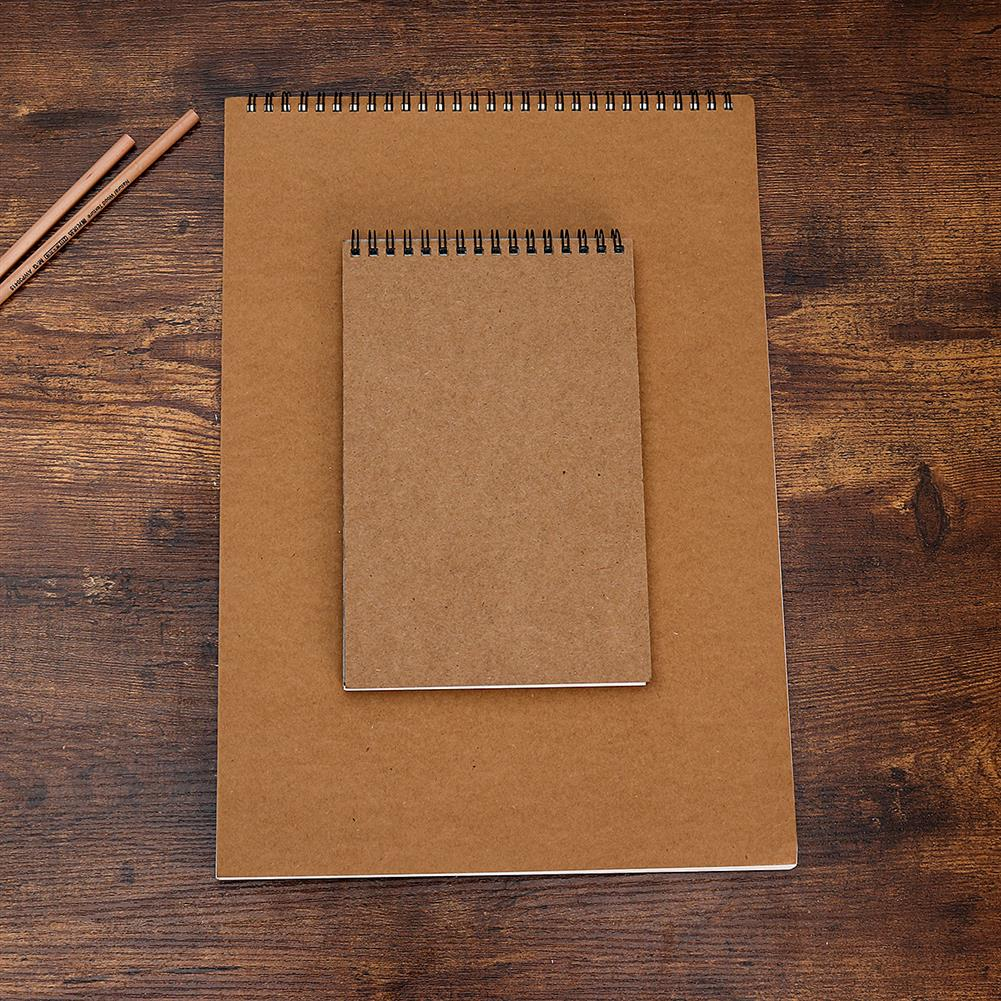 paper-notebooks A3/A4/A5/8K/16K Sketchbook Drawing Paper Picture Book Painting Book HOB1702992 3 1