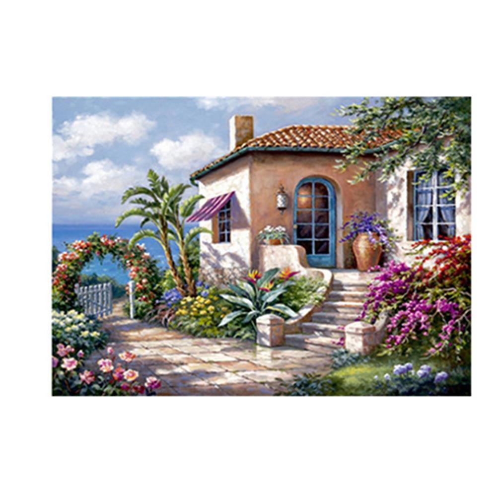 art-kit DIY 5D Diamond Painting Scenic Cabin Art Craft Kit Handmade Wall Decorations Gifts for Kids Adult HOB1703360 1