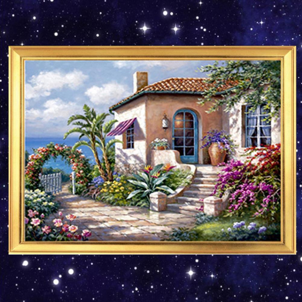 art-kit DIY 5D Diamond Painting Scenic Cabin Art Craft Kit Handmade Wall Decorations Gifts for Kids Adult HOB1703360 1 1
