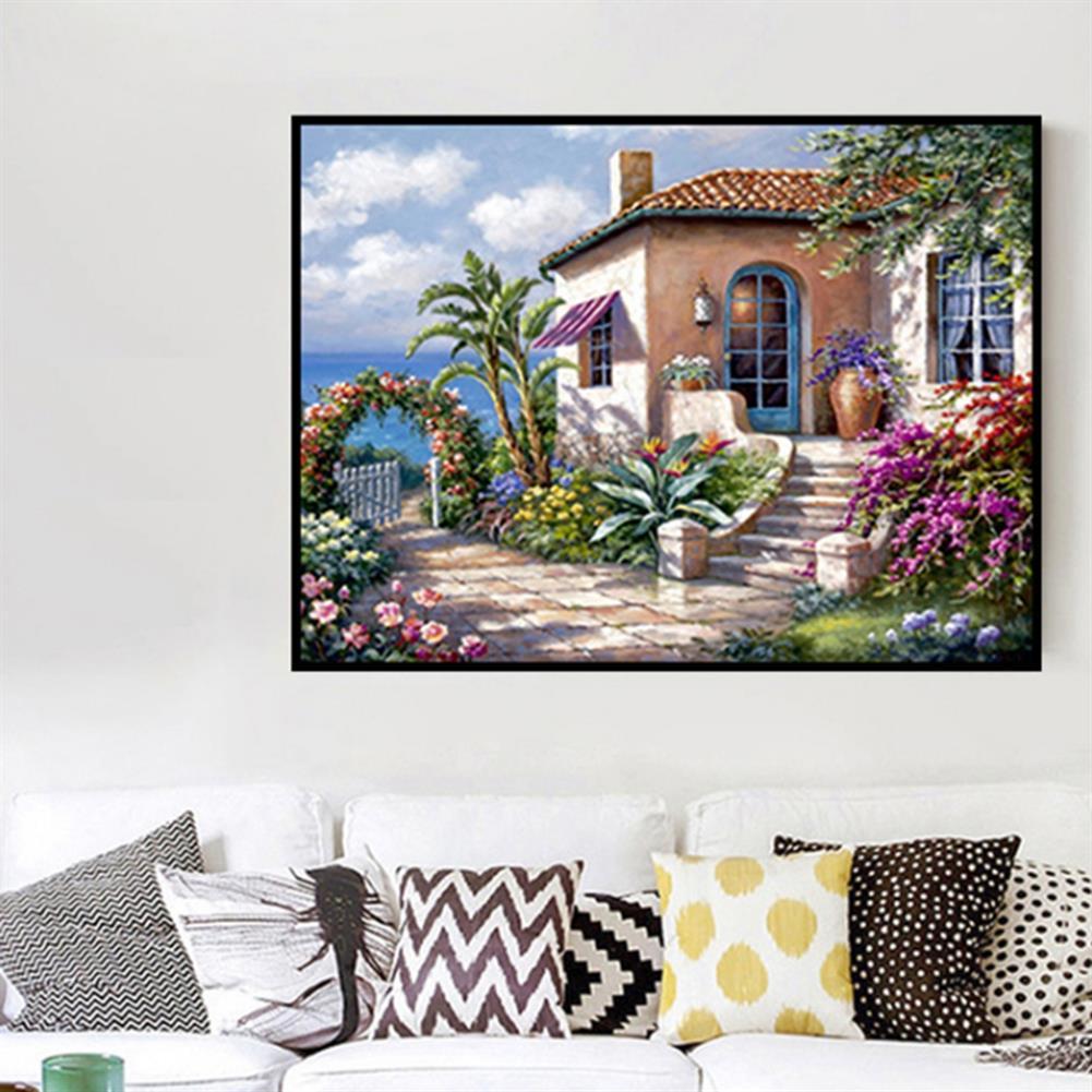 art-kit DIY 5D Diamond Painting Scenic Cabin Art Craft Kit Handmade Wall Decorations Gifts for Kids Adult HOB1703360 2 1