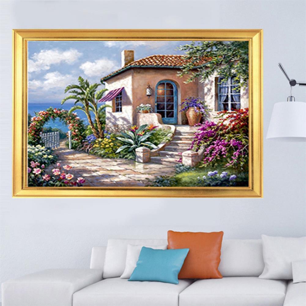 art-kit DIY 5D Diamond Painting Scenic Cabin Art Craft Kit Handmade Wall Decorations Gifts for Kids Adult HOB1703360 3 1