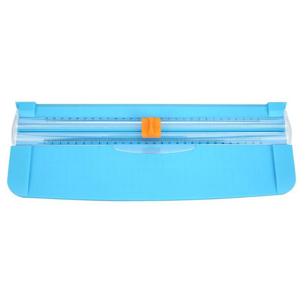 paper-cutter 857 A4 Portable Paper Cutter Plastic Paper Cutters and Trimmers Stationery Photo Paper Cutting Mat Tool HOB1703769 1 1