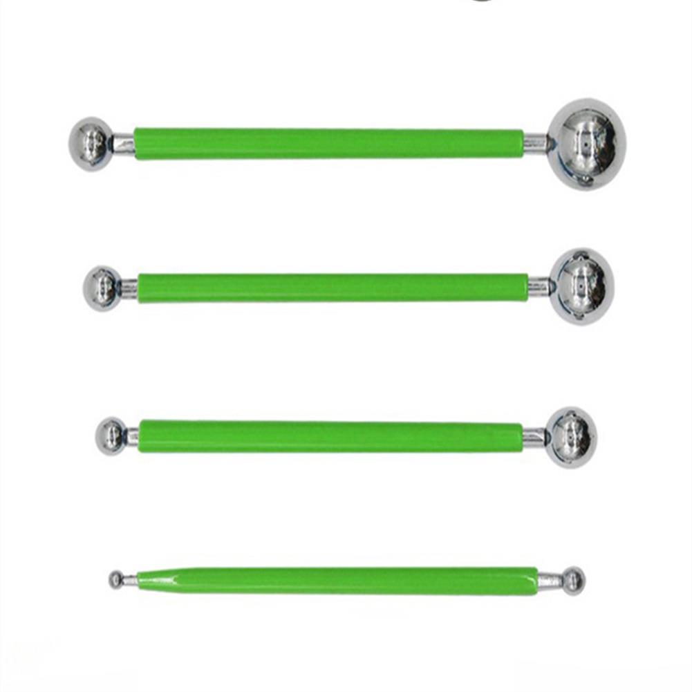 art-kit 4 pcs 8 Heads Fondant Tools Decorating Pen Stainless Steel Head Balls Fondant Pen Sugar Craft Decorating Tools HOB1704288 1 1
