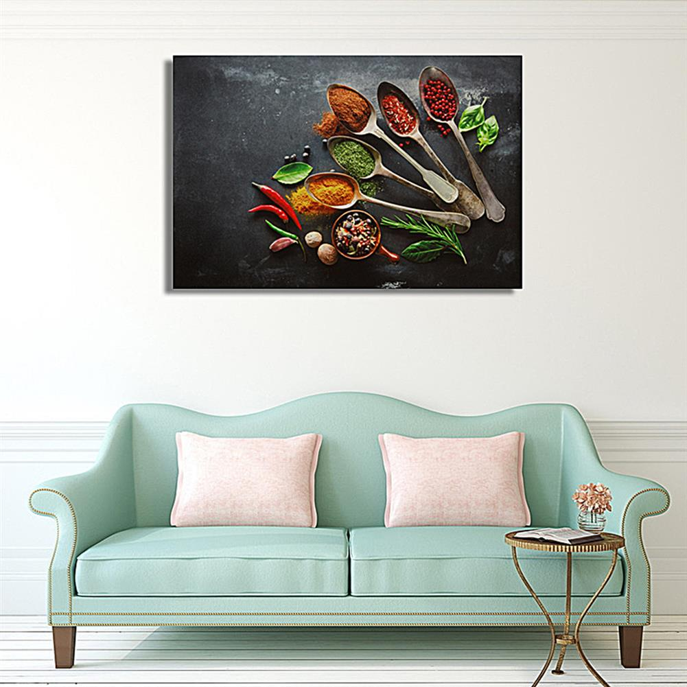 art-kit 1 Piece Wall Decorative Painting Canvas Print Art Pictures Frameless Wall Hanging Decorations for Home office HOB1704397 3 1