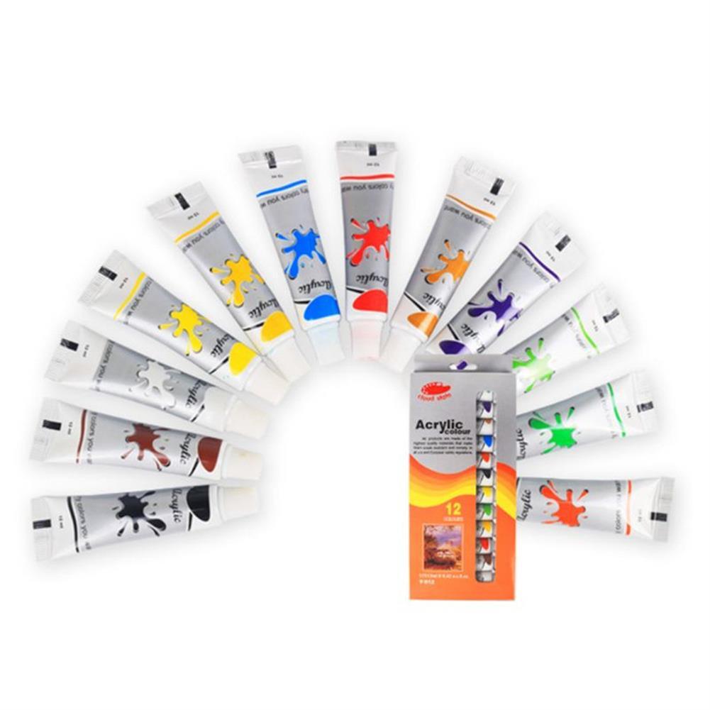 watercolor-paints 12 Colors Professional Watercolor Paint Set Brightly Pigment Color Painting Art Supplies HOB1704516 1