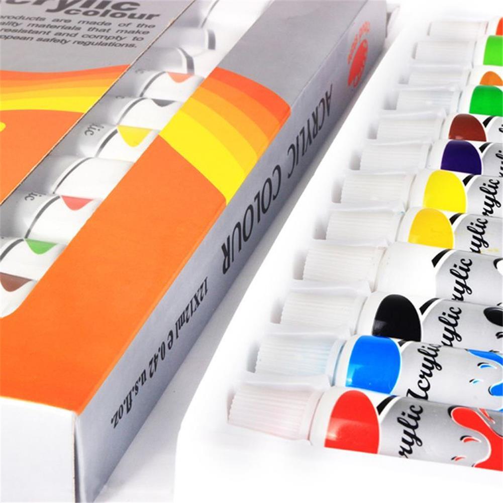 watercolor-paints 12 Colors Professional Watercolor Paint Set Brightly Pigment Color Painting Art Supplies HOB1704516 1 1